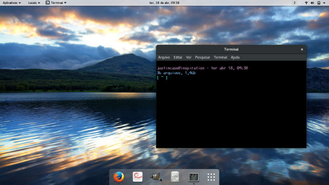 screenshot captura de tela wallpaper papel de parede system76