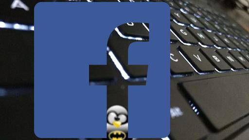 facebook tux teclado