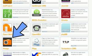 piwigo one-click install