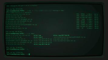 ssh scp screen