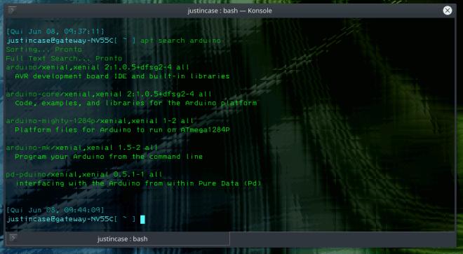 ubuntu arduino packages