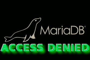 mariadb access denied