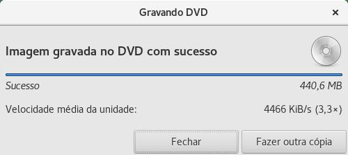 gravar DVD com BRASERO no Linux