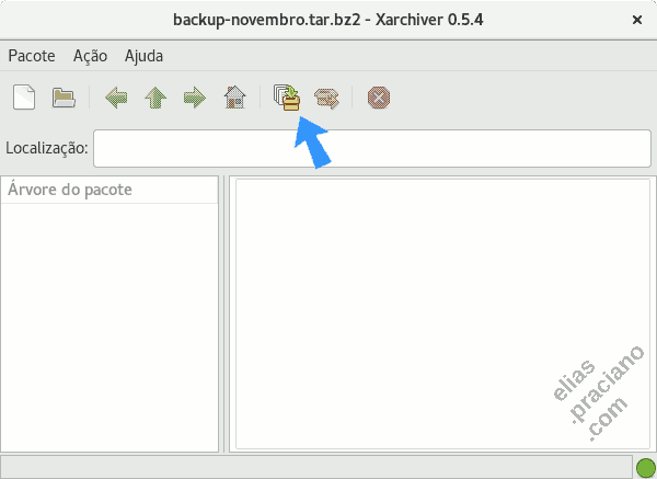 linux xarchiver backup tool