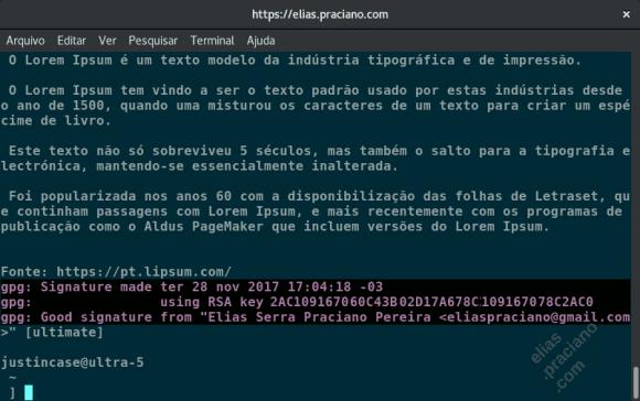gpg criptografia