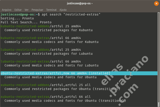 Ubuntu restricted extras e addons