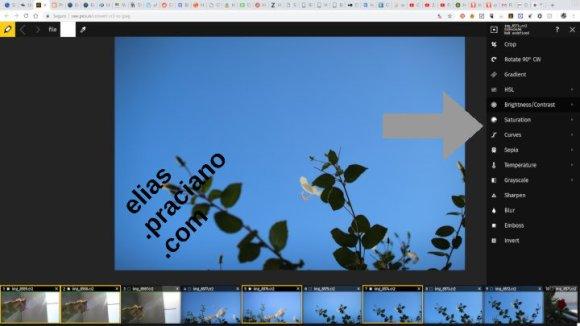 web para edição de imagens online