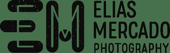 Elias Mercado Photography logo black