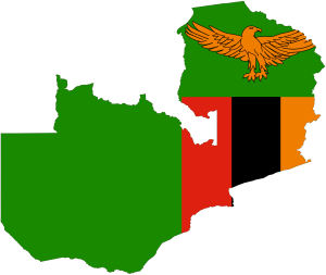 zambia_flag_map