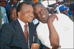 Chiluba and Sata - as MMD leaders 1991 to 2002