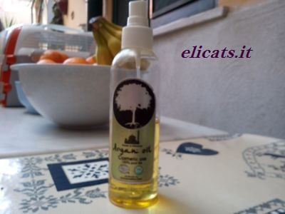Olio Argan in cucina antirughe e for Pet