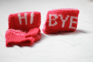 Cutest gloves I got. Given to me by H.
