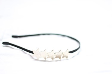 Simple star hairband given to me by E. Love every part of it. Feel loved when I wear it.