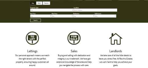 elicus-rawlins-estates-website-development-section