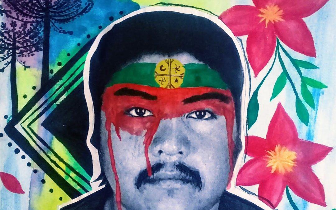La iconografía de la memoria de Camilo Catrillanca en Chile a un año de su asesinato
