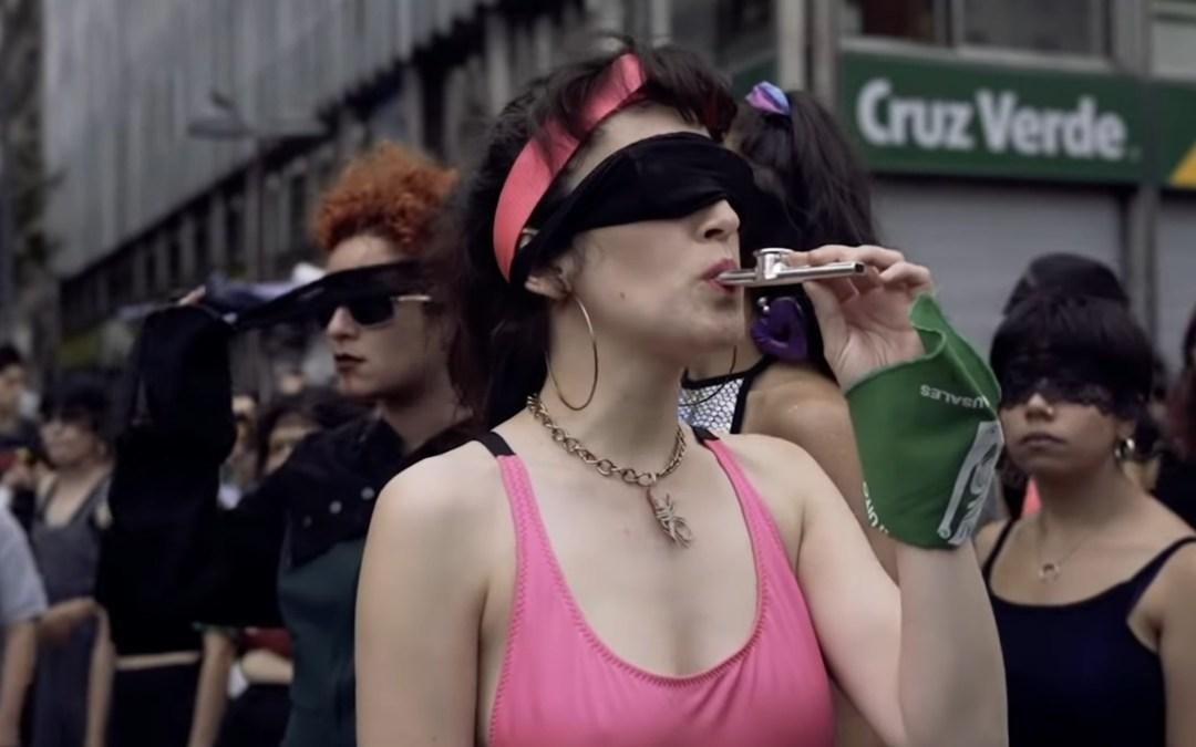 #LasTesis hacen ruido contra el patriarcado en todo el mundo