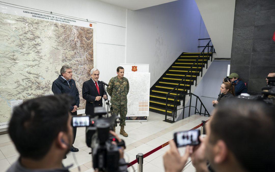 Chile: Explicación de las estrategias de propaganda de Piñera