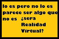 que es la realidad virtual