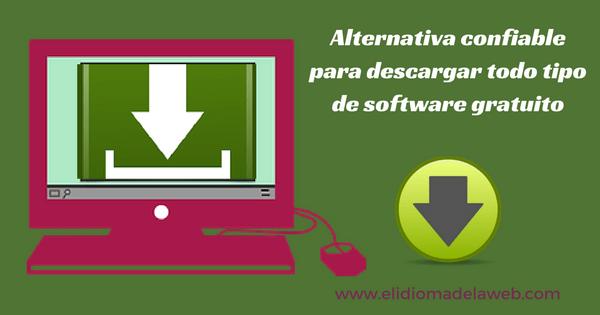 Alternativa confiable para descargar software gratuito
