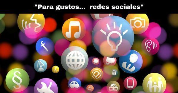 Redes sociales para todos los gustos