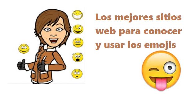 sitios para conocer y usar los emojis