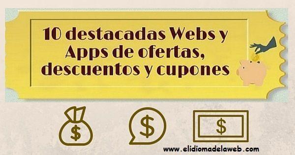 webs y apps de ofertas, descuentos y cupones