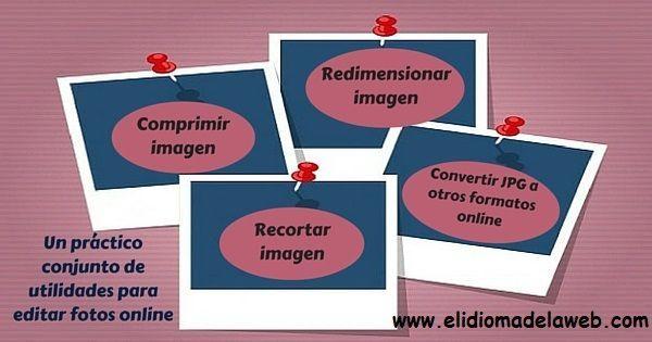 Herramientas online para la edición de imágenes