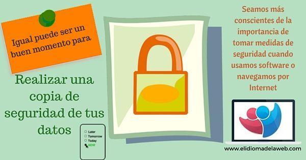 Realiza una copia de seguridad de tus datos