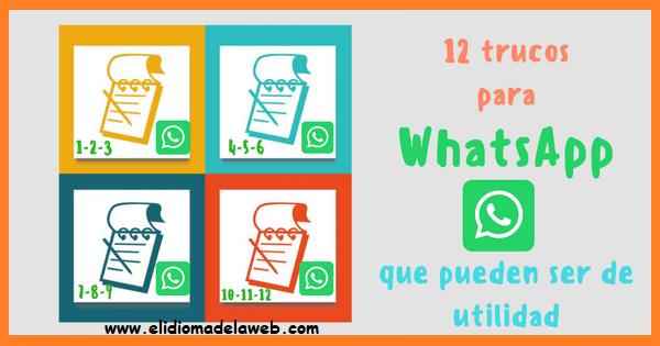 Funciones y utilidades para WhatsApp