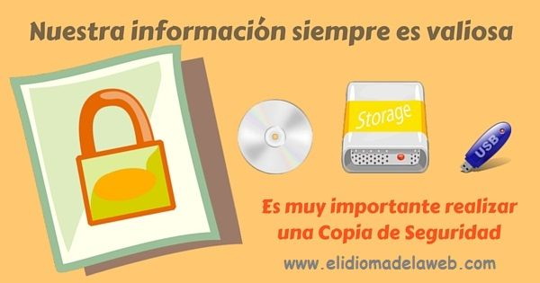 importancia de la copia de seguridad