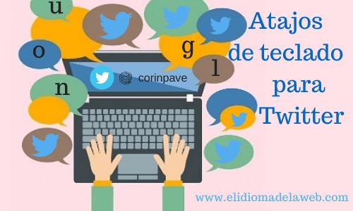 atajos teclado para twitter
