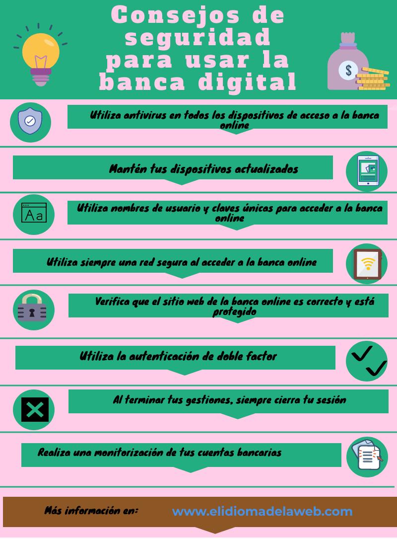 Consejos de seguridad en banca digital