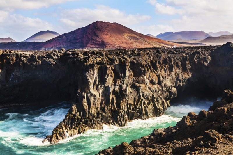 Ilhas Canárias: Formações rochosas surreais à beira mar
