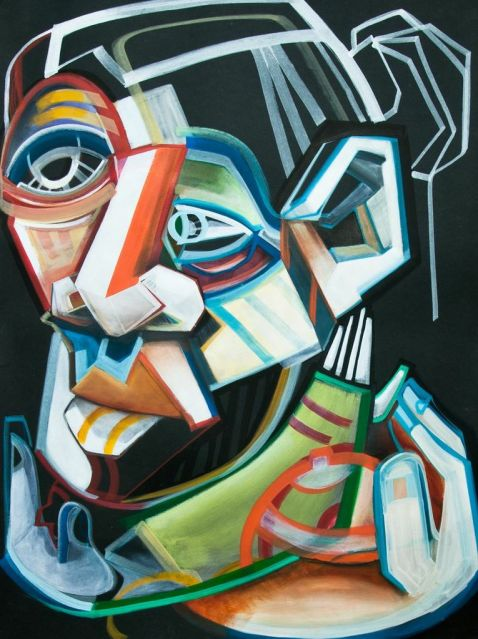 Acrylic on Paper (2013)