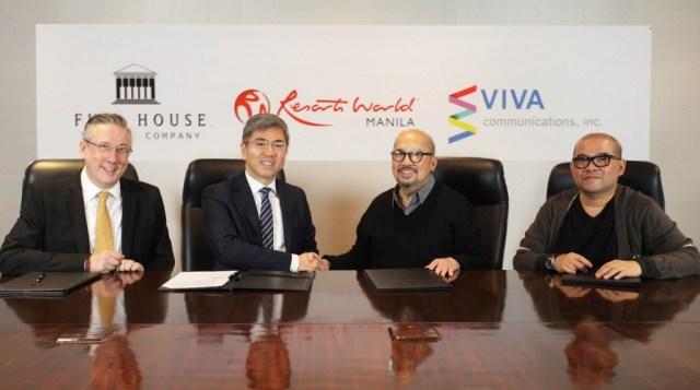 Resorts World Manila and VIVA partnership