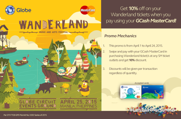 Globe GCash Mastercard promo gives you a discount for every swipe