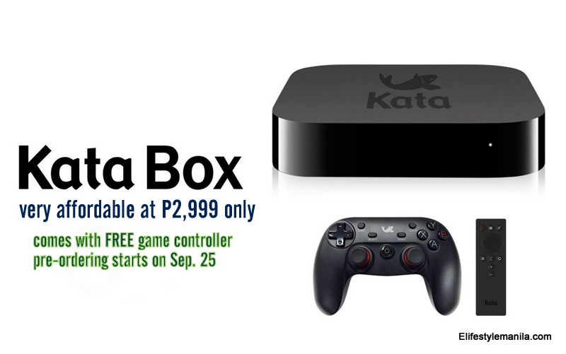 Kata Box at P2.999 with free game controller