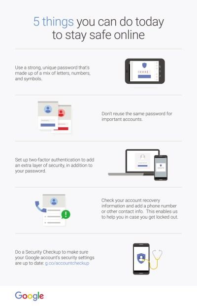 Google Safer week - Infographics