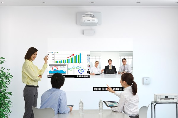 Epson short throw projector 1430Wi