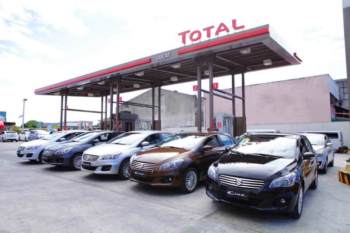 Suzuki Philippines partners with TOTAL to give away 3 Suzuki Ciaz units