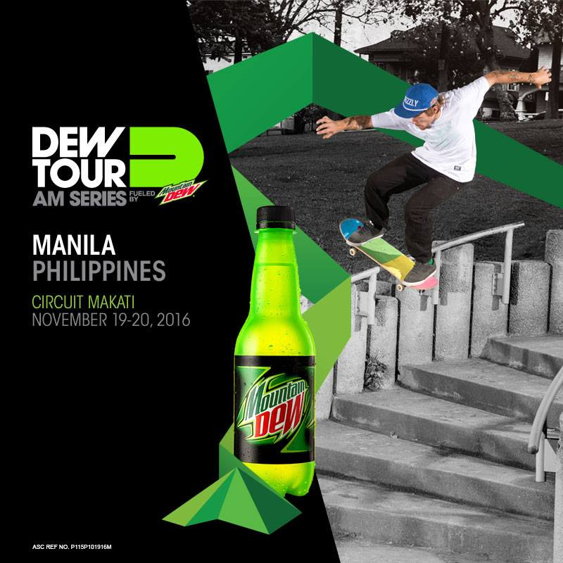 calling all amateur skaters! Join and get a chance to win P75,000 plus a trip to Dew Tour USA! CALLING ALL AMATEUR SKATERS FOR A GRAND PRIZE OPPORTUNITY TO WIN P75,000 PLUS A TRIP TO DEW TOUR USA!