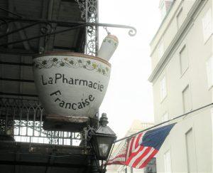 Pharmacie française Nouvelle Orléans Louisiane