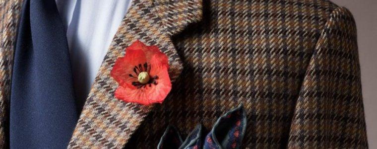 Fleur de Coquelicot (Poppy) à la Boutonnière