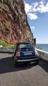 Notre petite Fiat 500 à Madère - Crédits : Mon Expérience Voyage