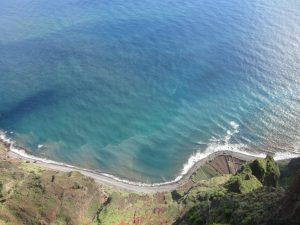Cabo Girao - falaise sur un plancher de verre à Madère