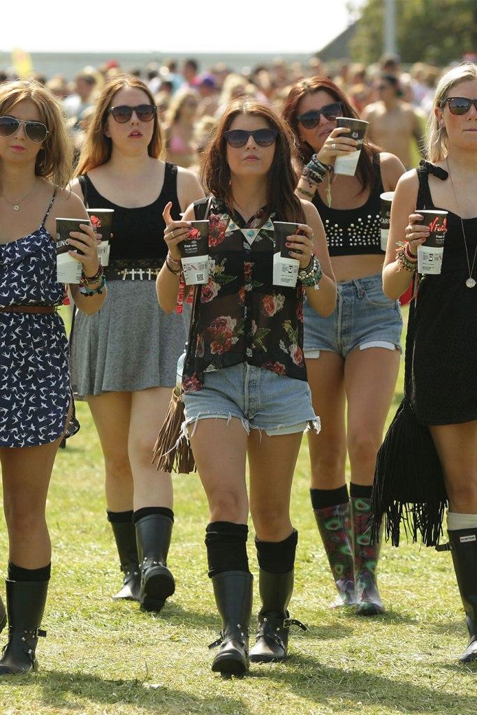 Mode festival angleterre