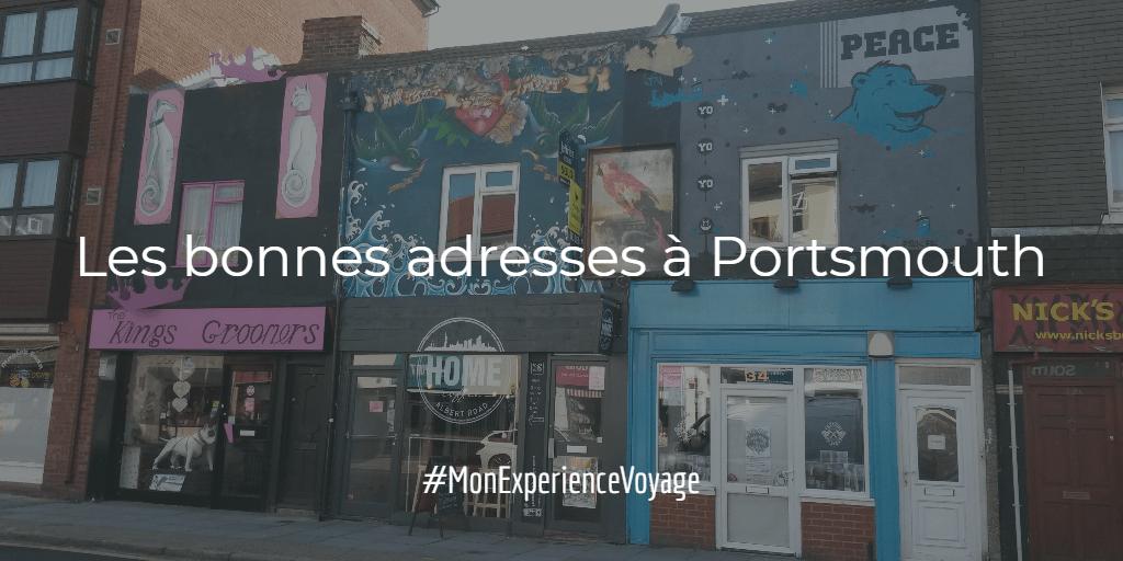 Les bonnes adresses à Portsmouth, UK