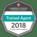 Eli est un agent certifié pour le Cambridge English Language Assessment