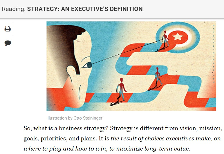 Strategy+business definition