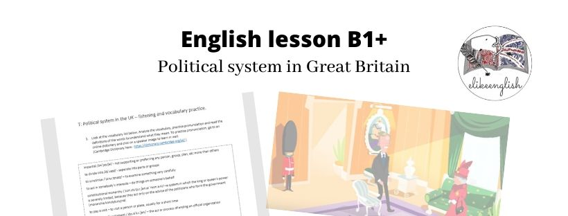 Political system in Great Britain – lekcja B1+